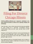 Print out divorce Papers Online Chicago Illinois PowerPoint PPT Presentation