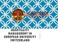 Hospitality Management in European University Switzerland PowerPoint PPT Presentation