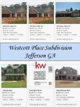 Westcott Place Subdivision Jefferson GA