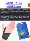 Wrist Brace With Thumb Stabilizer PowerPoint PPT Presentation