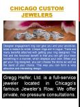 Chicago Custom Jewelers PowerPoint PPT Presentation
