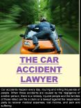 The car Accident Lawyer PowerPoint PPT Presentation