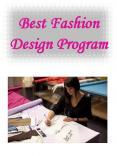 Best Fashion Design Program PowerPoint PPT Presentation