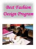 Best Fashion Design Program PowerPoint PPT Presentation