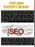 Top Local SEO Experts Miami PowerPoint PPT Presentation