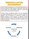 working capital management (1) PowerPoint PPT Presentation