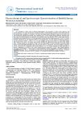 Physicochemical and Spectroscopic Characterization of Biofield Energy Treated p-Anisidine PowerPoint PPT Presentation