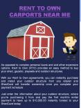 Rent To Own Carports Near Me PowerPoint PPT Presentation