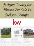 Jackson County for Houses For Sale In Jackson Georgia
