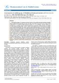 Assessment of Antibiogram of Multidrug-Resistant Isolates of Enterobacter aerogenes after Biofield Energy Treatment PowerPoint PPT Presentation