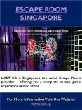 Real Escape Room Singapore PowerPoint PPT Presentation