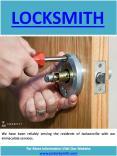 Locksmith in Jacksonville FL PowerPoint PPT Presentation