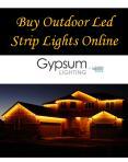Buy Outdoor Led Strip Lights Online