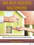 We Buy Houses Baltimore County PowerPoint PPT Presentation