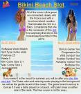 Bikini beach video slot game PowerPoint PPT Presentation