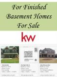 For Finished Basement Homes For Sale