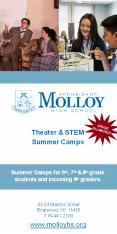 Theater & STEM Summer Camps at Molloy High School PowerPoint PPT Presentation