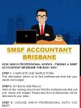 Self Managed Super Fund Accountant Gold Coast PowerPoint PPT Presentation