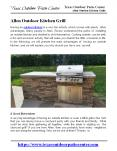 Allen Outdoor Kitchen Grill PowerPoint PPT Presentation