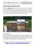 Allen Outdoor Kitchen Grill PowerPoint PPT Presentation
