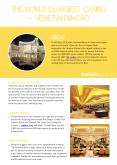 The World's Largest Casino – Venetian Macao PowerPoint PPT Presentation