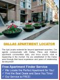Dallas Apartment Locator PowerPoint PPT Presentation