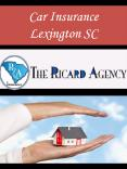 Car Insurance Lexington SC PowerPoint PPT Presentation