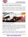 Facts about Commercial Auto Insurance PowerPoint PPT Presentation