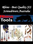 Rhino - Best Quality JIS Screwdrivers Australia PowerPoint PPT Presentation