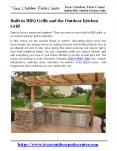 Built in BBQ Grills and the Outdoor Kitchen Grill PowerPoint PPT Presentation