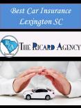 Best Car Insurance Lexington SC PowerPoint PPT Presentation