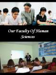 Our Faculty Of Human Sciences PowerPoint PPT Presentation