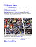 NFL Football Games 2017 PowerPoint PPT Presentation
