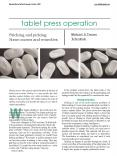 Tablet Press Operation: Sticking & Picking PowerPoint PPT Presentation