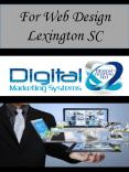 For Web Design Lexington SC PowerPoint PPT Presentation