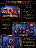 Dark Mystic Video Slot Game PowerPoint PPT Presentation