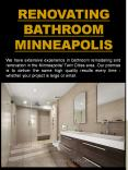 Bathroom remodeling Minneapolis MN PowerPoint PPT Presentation
