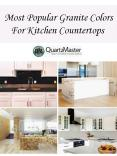 Most Popular Granite Colors For Kitchen Countertops PowerPoint PPT Presentation