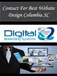 Contact For Best Website Design Columbia SC PowerPoint PPT Presentation