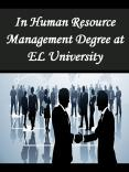 In Human Resource Management Degree at EL University PowerPoint PPT Presentation