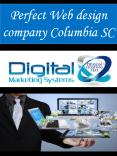 Perfect Web design company Columbia SC PowerPoint PPT Presentation