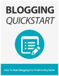 Blogging Quickstart (1) PowerPoint PPT Presentation
