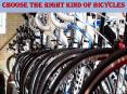 Choose The Right Kind Of Bicycles PowerPoint PPT Presentation