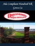 Ada Compliant Handrail Elk Grove Ca PowerPoint PPT Presentation