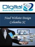 Need Website Design Columbia SC PowerPoint PPT Presentation