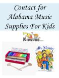 Contact for Alabama Music Supplies For Kids Online PowerPoint PPT Presentation