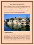 Bharatpur Touism PowerPoint PPT Presentation