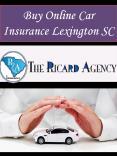 Best Auto Insurance Lexington SC PowerPoint PPT Presentation