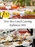 New Box Lunch Catering Baltimore MD PowerPoint PPT Presentation
