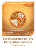 Buy dried fruit trays and Dry fruit platters call us 7357620009-Ashirwad handicrafts PowerPoint PPT Presentation